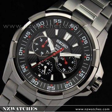BUY SEIKO Criteria SOLAR Multi-hand Calendar Men Watch SNE023P1 - Buy Watches Online | SEIKO NZ Watches