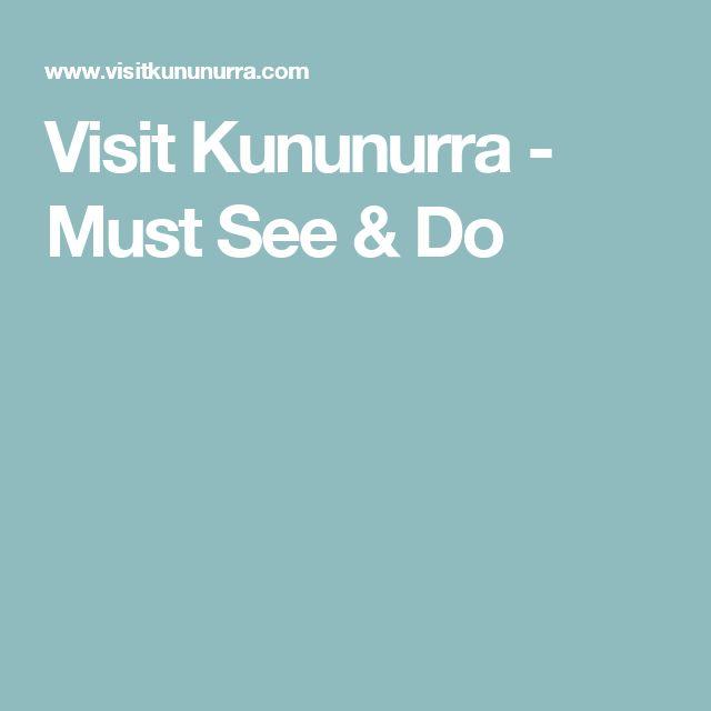Visit Kununurra - Must See & Do