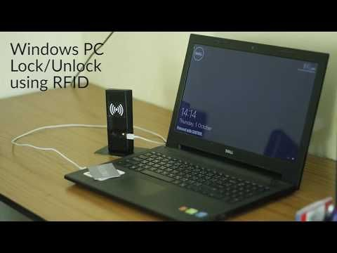 Windows PC Lock/Unlock Using RFID  - Arduino Project Hub