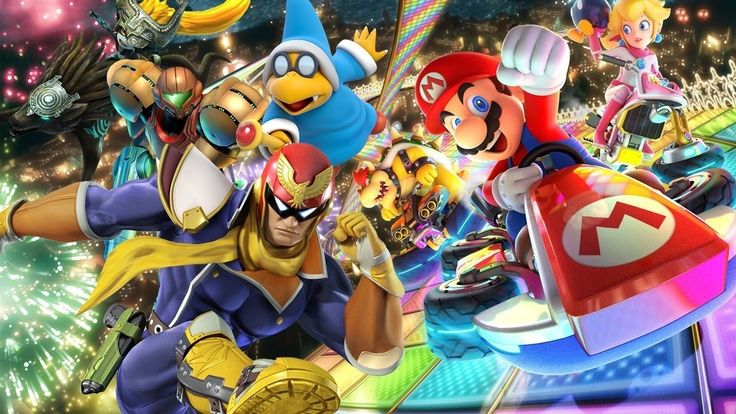 mario kart 8 price and Players can race one of over 40 game characters