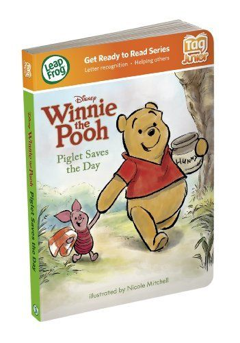 LeapFrog Tag Junior Book Disney Winnie The Pooh: Piglet Saves The Day by LeapFrog. $8.63. Each Tag Junior board book focuses on a different preschool skill - Piglet Saves the Day focuses on helping others. More than 24 playful activities encourage toddlers to take charge and explore, while helping build confidence with books. See your child's progress through the online LeapFrog Learning Path, and get printable activities to expand the learning. Touch Tag Juni...