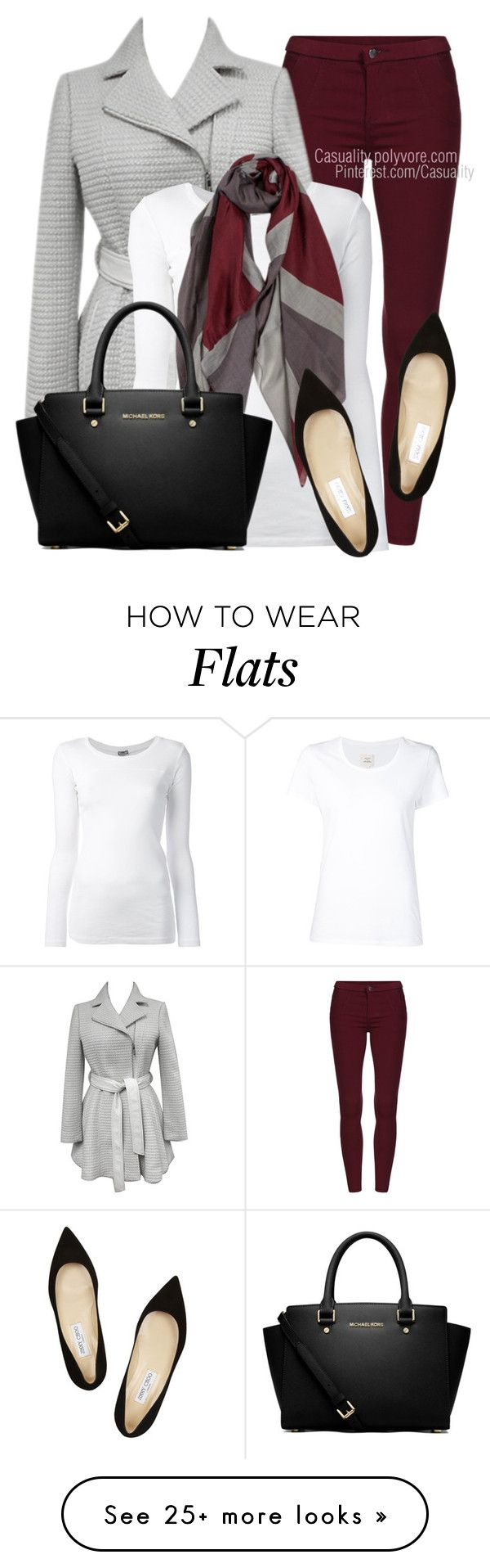 Untitled #1522 by casuality on Polyvore featuring Kensie, KristenseN du Nord, Max 'n Chester, Jimmy Choo and MICHAEL Michael Kors