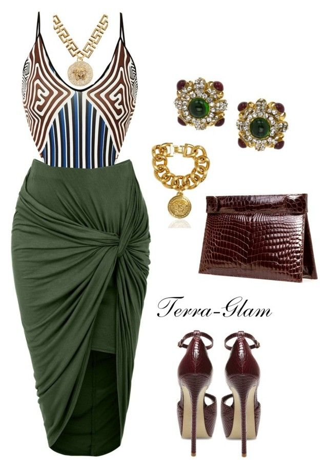 """""""Jungle Vibe"""" by terra-glam ❤ liked on Polyvore"""