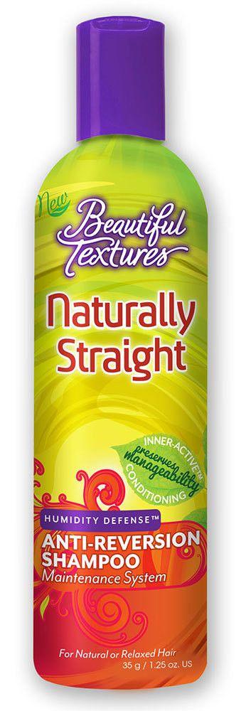 Beautiful Textures Naturally Straight Humidity Defense Anti-Reversion Shampoo 12 fl oz