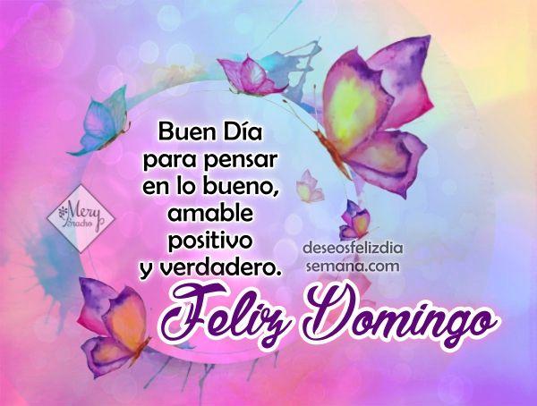 Centro Cristiano para la Familia:  Feliz Domingo   Que tengas un Feliz Domingo. Un B...