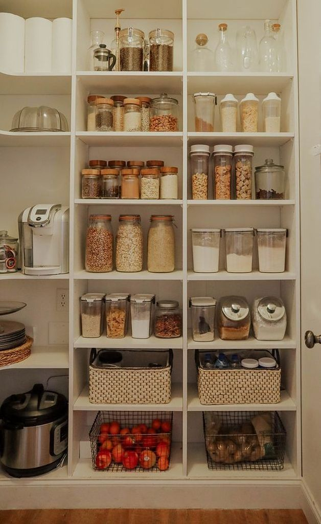15 Creative Diy Storage And Organization Ideas For Small Kitchens 3 In 2020 Fancy Kitchen Decor Pantry Organisation Kitchen Organization Pantry