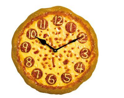 Orologio a forma di pizza - Vendita Online - Dmail -
