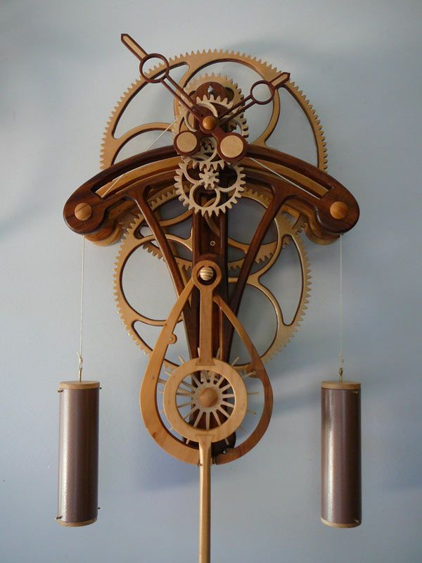 Oh to have these woodworking skills. This artist's plans are astounding and worth a look.