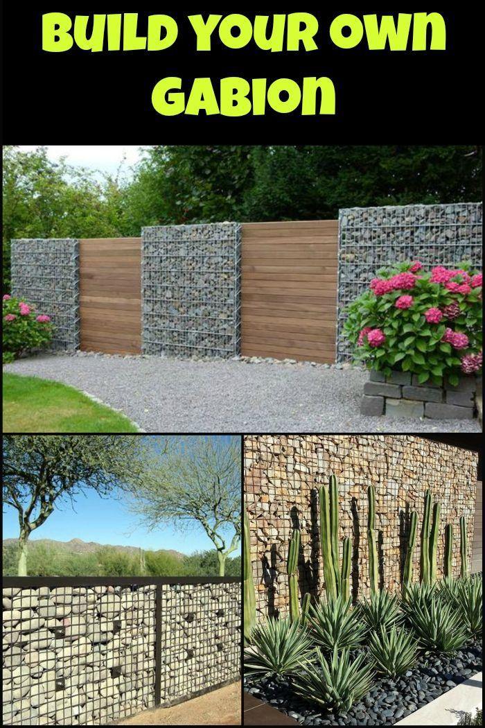 diy gabion rock walls without concrete - Matchstick Tile Garden Decoration