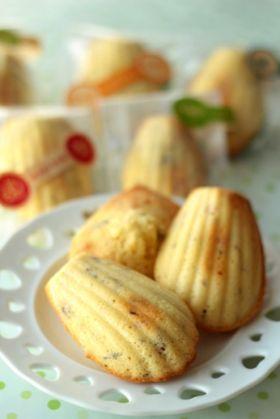 「さくらマドレーヌ」setsuko♪ | お菓子・パンのレシピや作り方【corecle*コレクル】