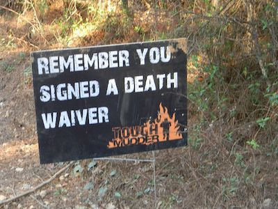 Yes, I remember...thanks for the unnecessary reminder! Tough Mudder - Major test of strength, stamina and mental grit :)