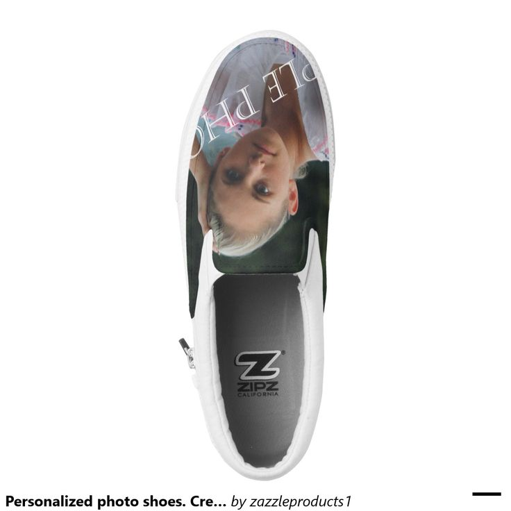 Personalized photo shoes. Create your own! Printed Shoes
