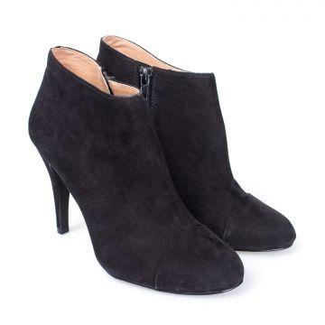 Элегантные женские ботинки на высоком каблуке BENETTON