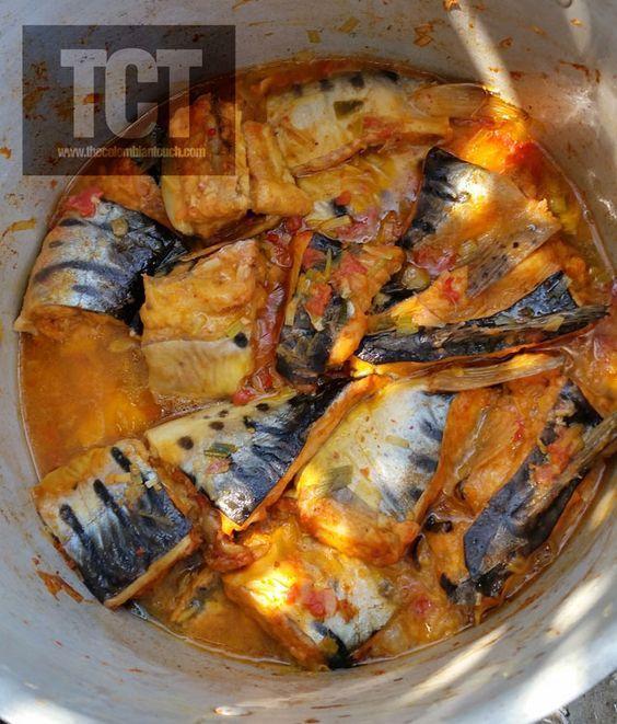 The Colombian Touch: Sudado de Bagre (Cocina del Magdalena Medio). Receta.....