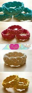 diy nautical rope bracelet   Bracelet DIY