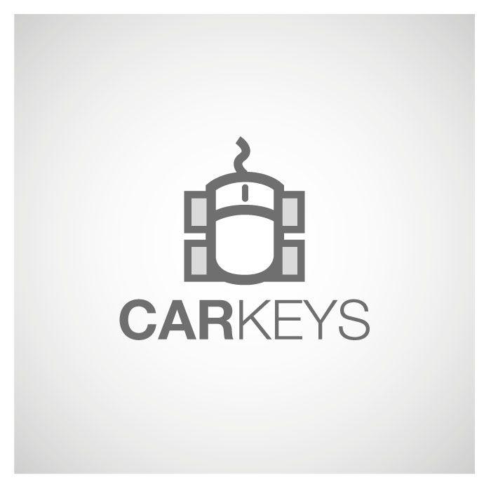 Participating logo contest on www.sribu.com - CARKEYS online automotive store