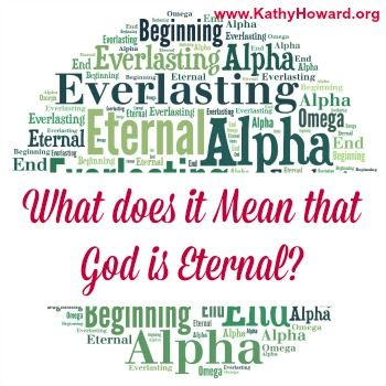 Have you ever really thought about the truth that God is eternal? What does it mean? And why should you care? What does it mean for you?