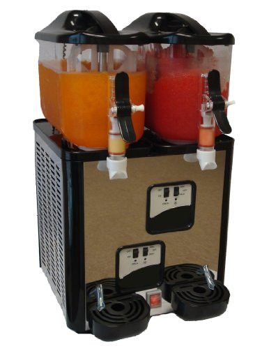 Margarita Girl Double-Bowl Mini Size Margarita Slush Frozen Drink Machine