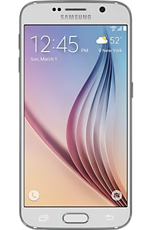 Reinvented from the outside in, the beautiful Samsung Galaxy S6 is more than a pretty face. Within the stunning metal and glass design, the 5.1-inch Quad HD Super AMOLED  display lets content shine li
