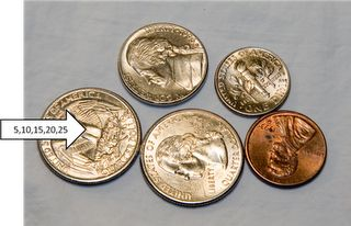 A great tip for teaching money counting, especially to K-2! YES!!