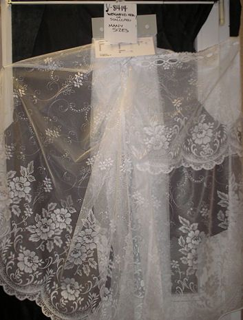 55 Best Lace Curtains Ready Made Valances And Tiers
