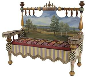 Benches from Old Beds - Trash to Treasure - Architectural Salvage