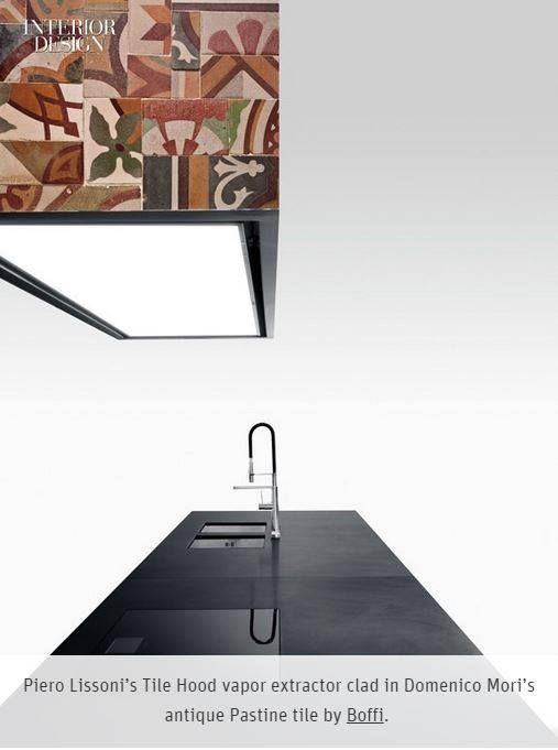Tile Hood by Piero Lissoni seen on Interior Design Magazine Discover TILE…