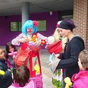 Payasos para Ikastolas y Colegios Donostia  Payasos Fiestas Donosti - Moremí Eventos www.moremieventos.com