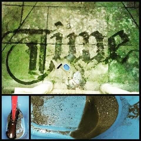 Big.. Time... Idő... Calligraphy