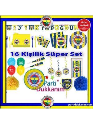 Fenerbahçe Süper Set 16 Kişilik (Ürün Hediyeli)