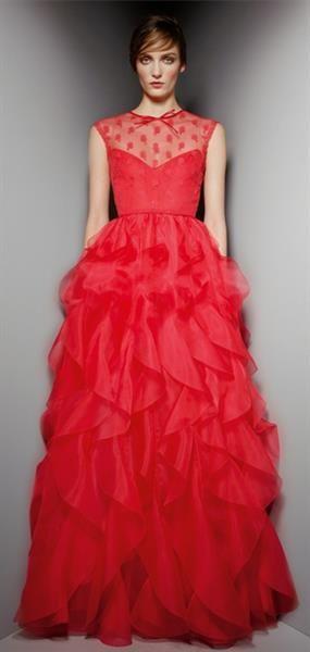 Диана крюгер в платье от valentino