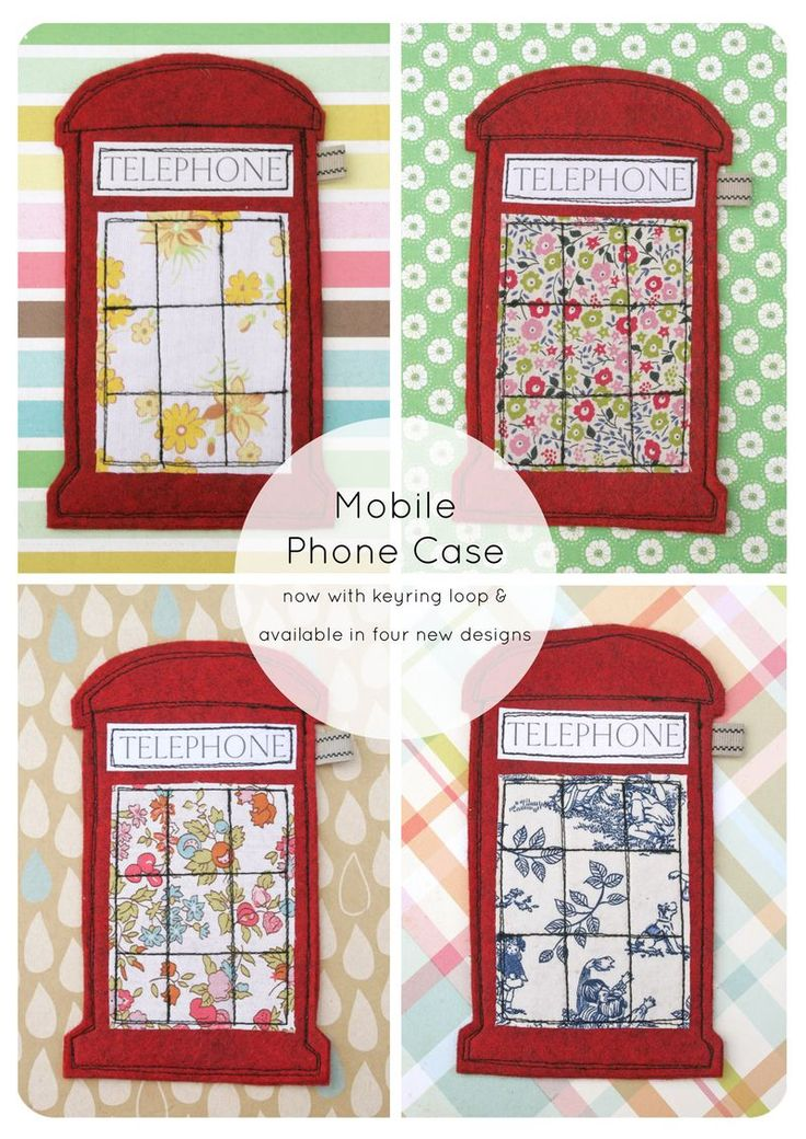 """Make it blue and change """"telephone"""" to """"police public call box"""" and you've got a Tardis phone case..."""
