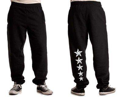 """Joggingbyxa+Stars+""""bak+vänster"""""""