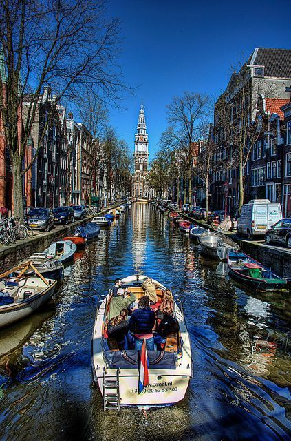 Amsterdam Spring Canal