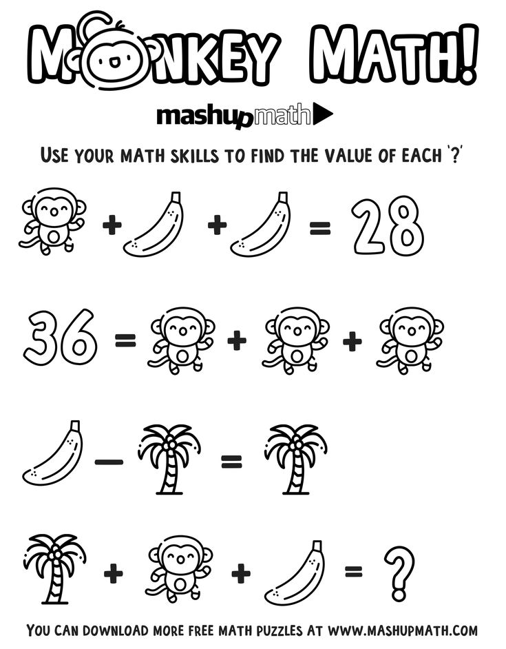 Free Math Coloring Worksheets for 5th and 6th Grade in