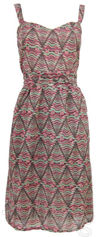 Erin jurk van Lily & Me, bij Solvejg.nl de webshop voor kleurrijke mode