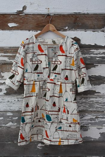 Schoolhouse Tunic from Sew Liberated/Sew Mama Sew (tutorial)