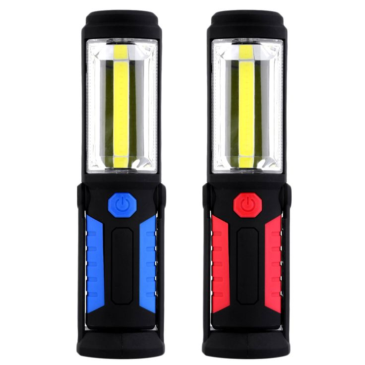2 Modes COB Outdoor Camping Light Magnetic Hanging Hook Lamp Emergency Torch Light Waterproof 5W 350 Lumens LED Work Hand Lamp. Yesterday's price: US $14.40 (11.88 EUR). Today's price: US $10.37 (8.53 EUR). Discount: 28%.