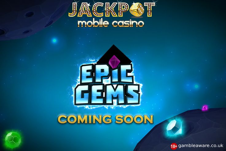 If you want something different rather than the same boring slots, the Epic Gems game at Jackpot Mobile Casino is the one for you!! Pick the correct gem and keep on adding money  Get ready to play the interesting game!!