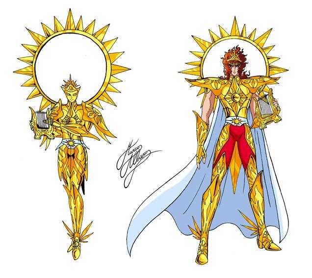 Sacri Guerrieri del Sole - Apolo, Dios del Sol
