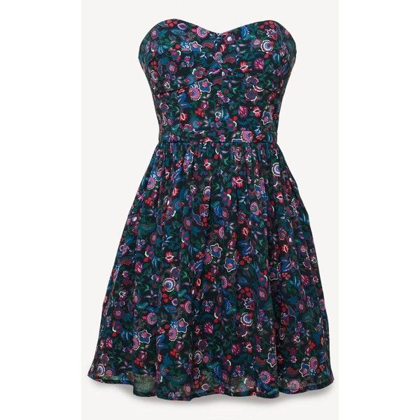 Jack Wills Dawley Dress ($128) ❤ liked on Polyvore featuring dresses, vestidos, short dresses, robes, navy florl, blue mini dress, short floral dresses, navy floral dress, floral cocktail dresses and short blue dress