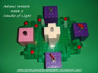 LEGO Advent Wreath,  Advent for Kids