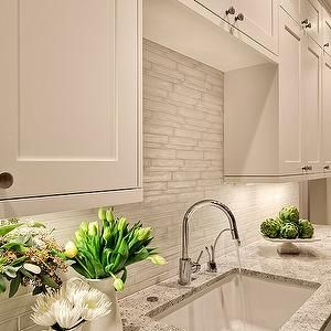 Benjamin Moore White Dove Cabinets - Cottage - kitchen - Benjamin Moore White Dove - For the Love of a House