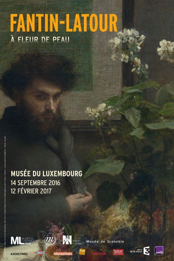 """L'exposition """"Fantin-Latour. À fleur de peau"""", au musée du Luxembourg, Paris 6... #Art #Artiste #Exposition #Expo"""