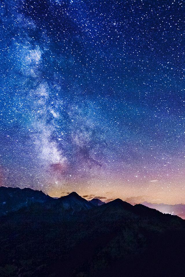 Milky Way iPhone wallpaper Wallpapers Pinterest