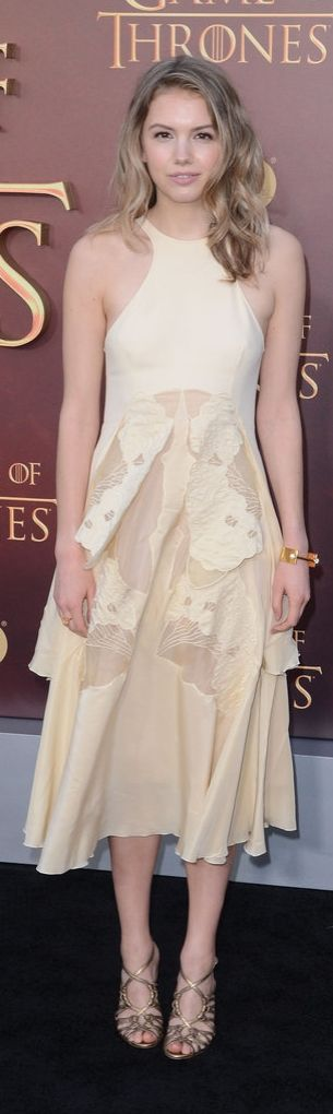 Hannah Murray at the Game of Thrones Season 5 premiere