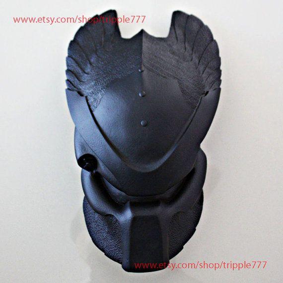 1:1 Scale Replica Predator mask, Predator costume, Predator helmet, Home decor, Wall mask, Halloween mask, AVP Ancient Temple Guard PD18