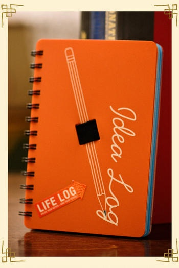 Idea Log Book $12Crafts Ideas, Gift Ideas, Ideas Logs