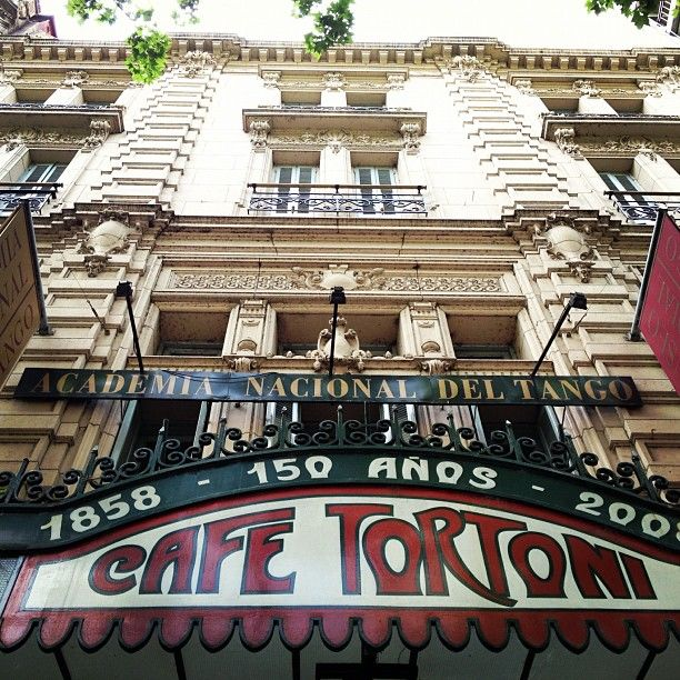 It's suppose to be the most famous cafe in Argentina