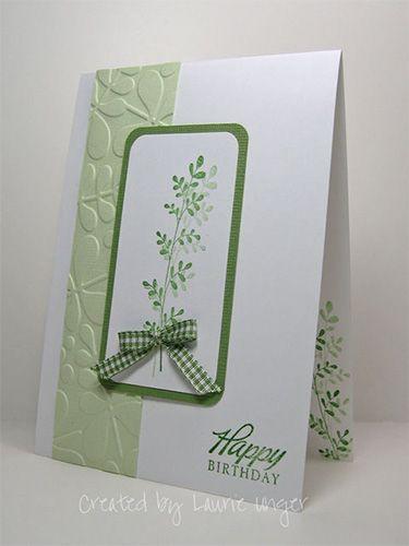 simple but elegant birthday Card